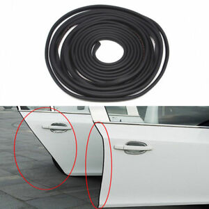157.5 In/4 M Black Car Door Trim Edge Body Strip  Mold Scratch Guard Protector