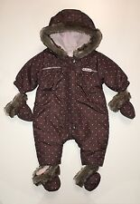 ABSORBA DESIGNER BABY GIRLS PRAM SNOW SUIT RRP£55 - UP TO 1 MONTH (NEXT DAY)