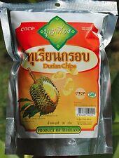 DURIO Chips-delizioso Thai FRUTTA SNACK-otop NATURALE-Free INT Postage