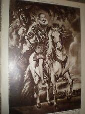 Rubens Portrait of the Duke of Lerma on sale 1962 print ref AX