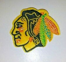 "Chicago Blackhawks Embroidered Patch~2"" x 2 1/8""~Iron Sew~NHL~Ships FREE"