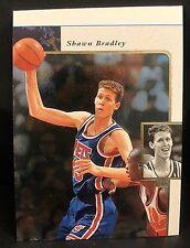 SHAWN BRADLEY 1995-96 Upper Deck SP Miscut ERROR OddBaLL Card #83 RARE Nets
