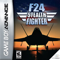 F24 Stealth Fighter - Nintendo Game Boy Advance GBA
