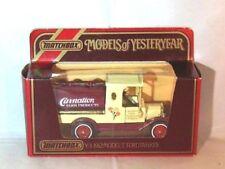 Matchbox Models of Yesteryear Ford Diecast Tanker Trucks