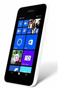 Nokia Lumia 530 - 4GB-White (Unlocked) Smartphone
