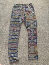 Vivienne Westwood Vintage RARE Savage Print Aztec Trousers Leggings XS