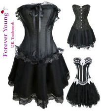 Satin Glamour Basques & Corsets for Women