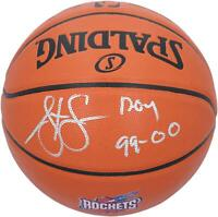 Autographed Steve Francis Rockets Basketball Fanatics Authentic COA