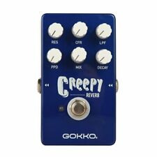 New: Gokko GK-26 Reverb Electric Guitar Effects Pedal 🎸 Stompbox