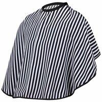 Corte de Pelo / Barberos Capa - Vestido de Peluqueria de Raya Negra Y Blanc B2X4