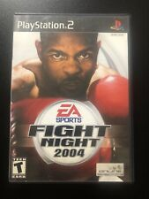 Fight Night 2004 PlayStation 2 PS2 With Manual Tested