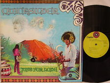 "QUICKSILVER MESSENGER SERVICE - Just for Love LP (1st Issue on ""lime"" CAPITOL)"