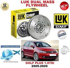 POUR VW GOLF PLUS 5M1 521 1.9 TDi 05-09 ORIGINAL LUK DMF VOLANT MOTEUR BIMASSE