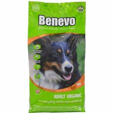 Benevo Dry Dog Food Organic Complete Adult 2kg Bag Vegan Vegetarian Wheat-Free