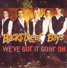 CD Single BACKSTREET BOYS  We've got it goin'on 2-track CARD SLEEVE NEW SEALED