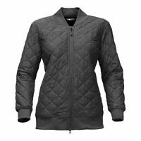 The North Face Womens Mod Bomber Jacket Black