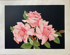 Three Roses by Elizabeth Hampe - Limited Edition Lithograph