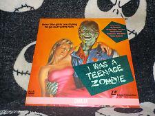 I Was A Teenage Zombie Laserdisc LD Michael Rubin Free Shipping