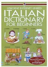 NEW - Italian Dictionary for Beginners: Usborne Internet-Linked
