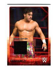 WWE Fandango 2015 Topps Event Used Shirt Relic Card Black