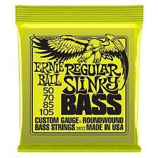 Ernie Ball Regular Slinky Electric Bass Guitar Strings 50-105. P/No:2832