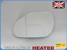 Wing Mirror CAR Glass For HYUNDAI i30 2007-2011 Wide Angle HEATED Left #JA019
