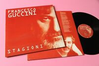 GUCCINI LP STAGIONI 1° STAMPA ORIGINALE 2000 NM ! NUMERATA N° 841