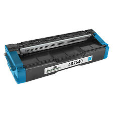 For Ricoh 407540 Toner Cartridge Cyan 2, 3K Yield or SP C250DN, C250SF