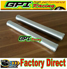 "2pcs 2.5"" 63 mm Straight Aluminum Turbo Intercooler Pipe Piping Tube  L=300"