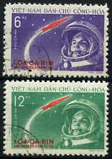 North Vietnam 1961 SG#N170-1 Manned Space FLight Used Set #D35486