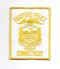 **HARTFORD CONNECTICUT POLICE PATCH**