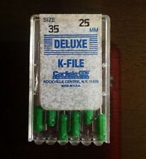 Deluxe K-FILE Endodontic Root Canal Files 25mm size 35