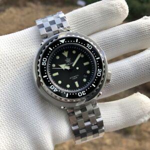 STEELDIVE SD1978 Emperor Tuna 52mm Automatic 1000m Diver Watch *UK SELLER*