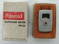 VINTAGE Polaroid Exposure Meter PR-22 General Electric Co. Original Box
