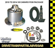 Detroit TrueTrac Posi Pkg Camaro 2010 - 2014 V8 Non LS1 Gear Set and Master Kit