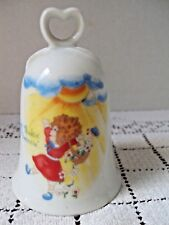 "Ceramic Bell Applause Annie Entitled Just Thinkin About Tomorrow 4-1/2"" Tall"