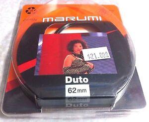 62mm DUTO Glass Lens Filter Genuine Marumi Original OEM Japan 62 mm