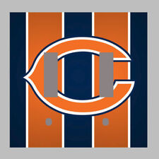 Chicago Bears - Double Light Switch Plate / Cover