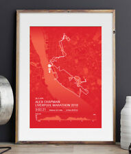 Rock 'n' Roll Liverpool Personalised Marathon Print / Poster - A unique gift!
