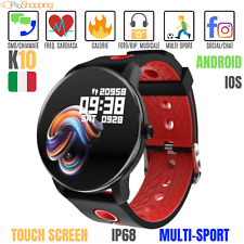 SMARTWATCH OROLOGIO K10 SMART BAND FITNESS TRACKER SPORT BLUETOOTH ANDROID IOS