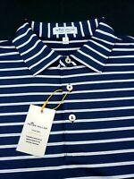 Peter Millar Crown Sport Summer Comfort Stretch Polo Shirt L XL