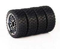 1/10 RC Rally Racing Off Road Car Rubber Tyre Tire and Wheel 4PCS 10087-21104