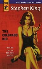 """GOOD-VERY GOOD COND""  THE COLORADO KID by Stephen King (2005) PAPERBACK"