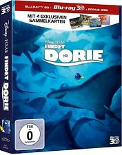 FINDET DORIE (Blu-ray 3D + Blu-ray Disc + Bonus-Disc) Schuber NEU+OVP