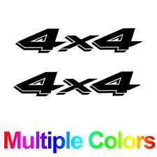 Pair of 4x4 Stickers - Off Road Decals for Ford, Dodge, Chevy, GMC, Toyota