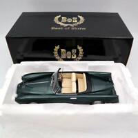 BOS Models Lancia Aurelia PF200 Cabriolet By Pinrifarina 1953 Green BOS262 1:18