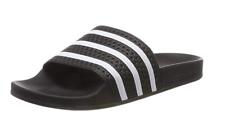 Adidas Adilette Herren Badeschuhe Sandale Badelatschen Schuhe 280647 (Schwarz)
