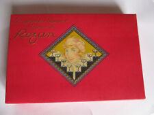 Boîte en carton ancienne1925 chocolats aux liqueurs Rozan Pyrénées