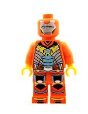 Design Personnalisé Figurine-Iron Man Orange Imprimé sur LEGO Pièces