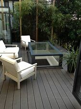 Ecoscape Composite Decking Clarity Walnut 14 SQM Pack (incl. fixings and screws)